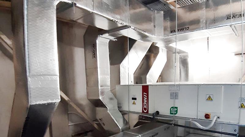 instalacion, mantenimiento y limpieza de conductos para sistemas de climatizacion
